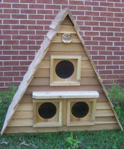 Triplex Cat House
