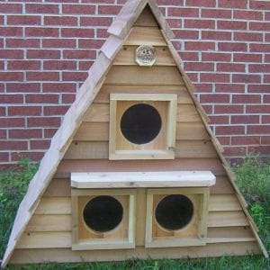 Triplex Cat House