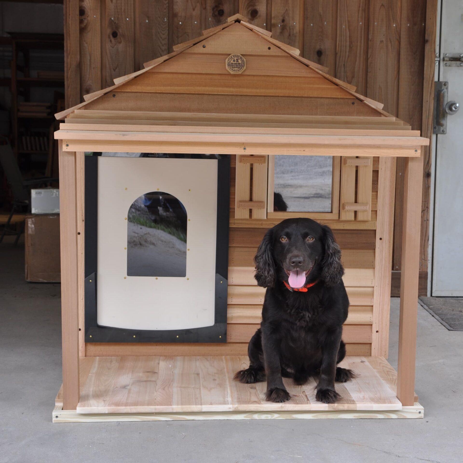 Extra Large Dog House - Custom Cedar Dog House
