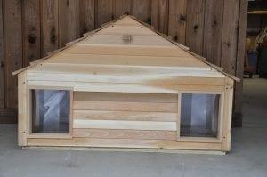 medium duplex dog house