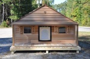 large single door duplex w porch and deck