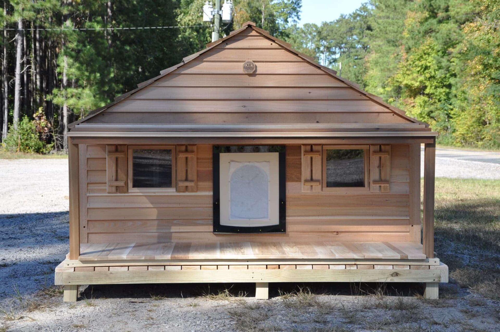 Large Duplex Single Door Dog House