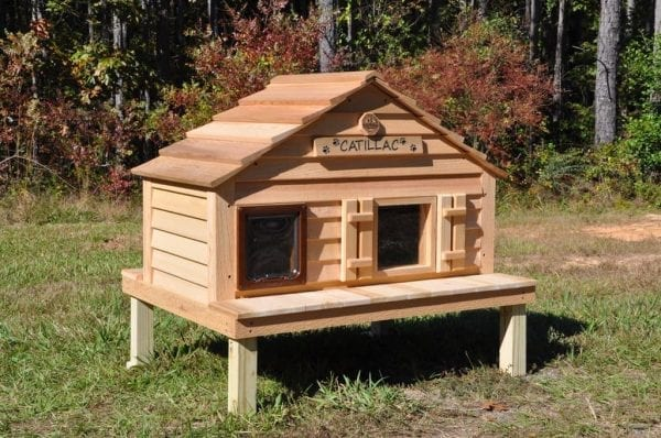 Catillac cat house on Platform