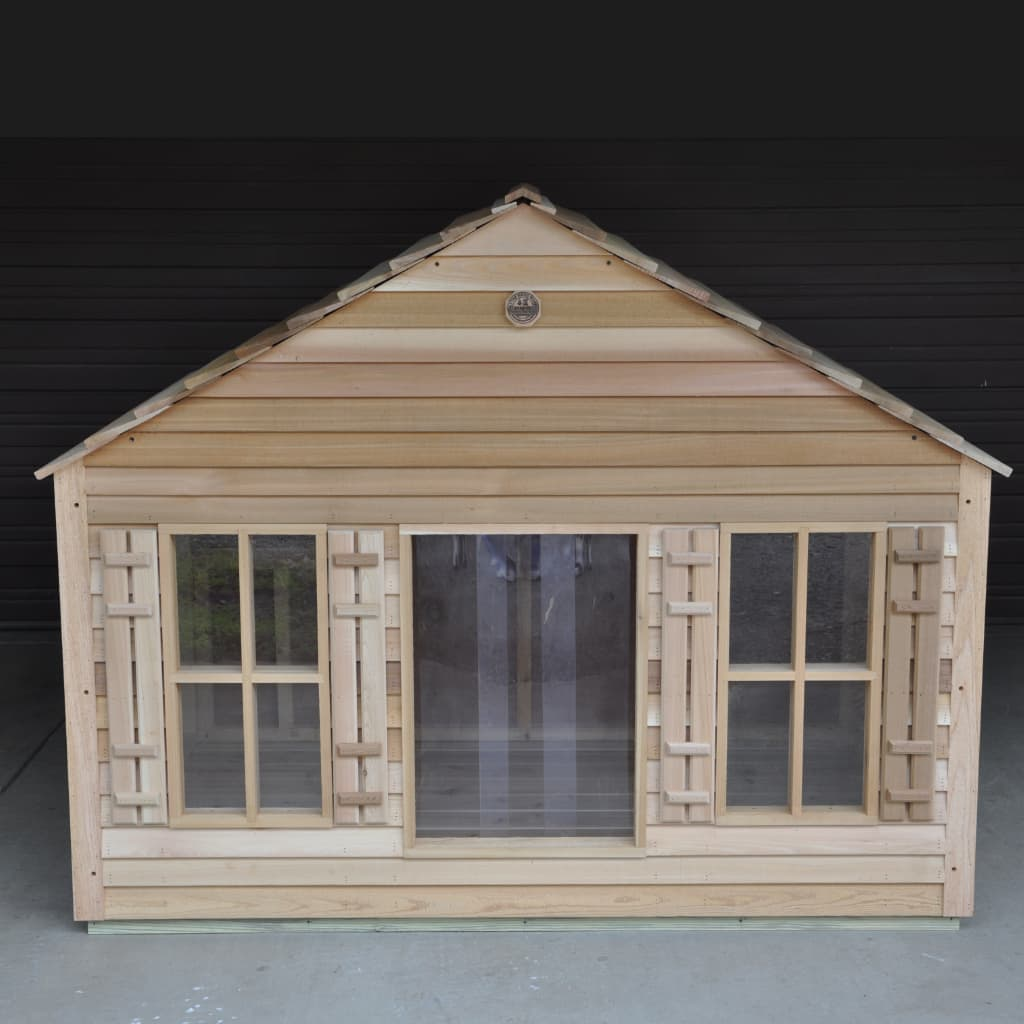 Dog House with Extra Large Windows