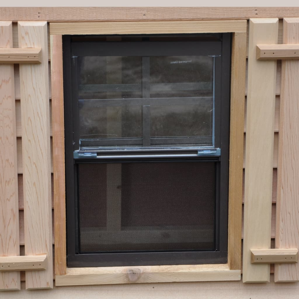 Sliding Window Open