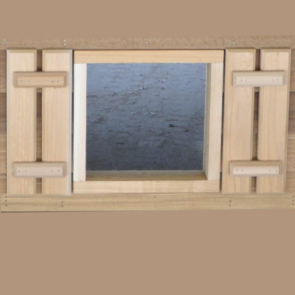 Standard Window with Shutters